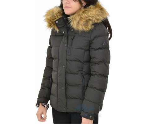 Eastbound Jakna Short With Fur Women