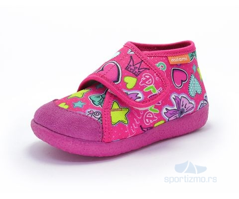 MILAMI PATOFNE Best Color Fuxia Hearts Kids