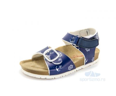 MILAMI SANDALE Chillicothe Navy Blue Anchor Kids