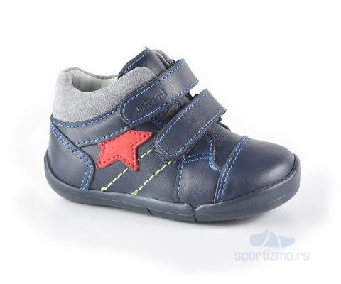MILAMI CIPELE Noel Navy Blue - with red star